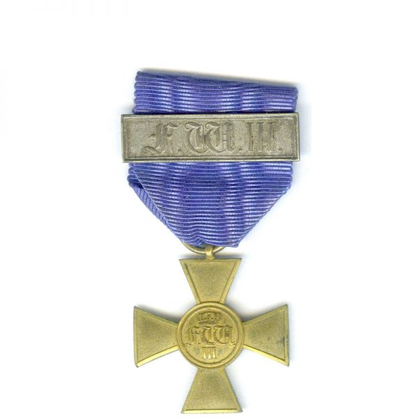 Military  L.S. Cross Officer 25   years gilt 1
