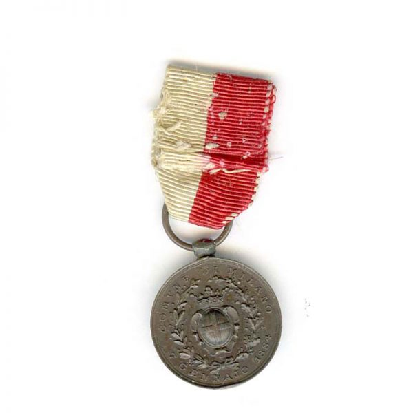 Milan  Medal of merit for the Uprising against Austria 18-22 March 1848 2
