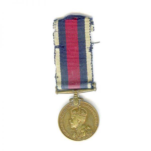 Indian Police Distinguished Service Medal GV bronze rare(L22413)  N.E.F. £75 1