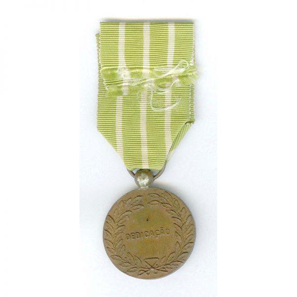 Portuguese Legion Medal for Good Behaviour and Attendance medal bronze 2