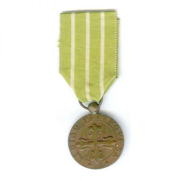 Portuguese Legion Medal for Good Behaviour and Attendance medal bronze 1