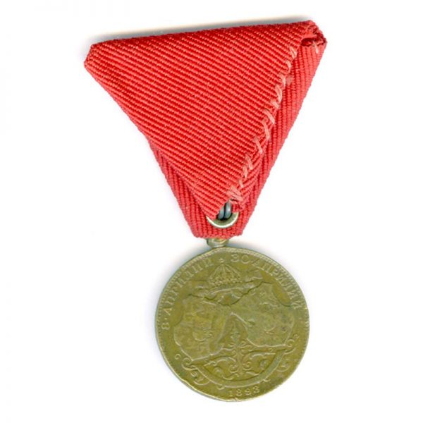 Prince Ferdinands Wedding medal 1893 2