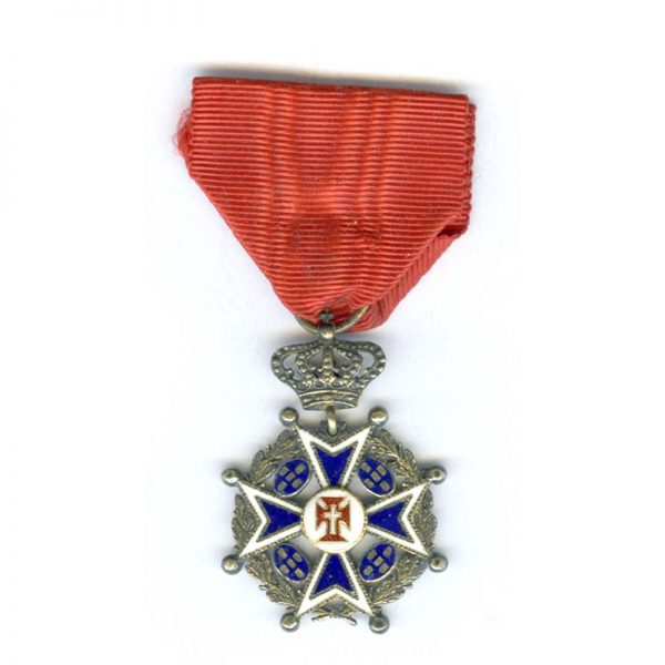 Order of Christ Knight   Military with wreath and crown 1