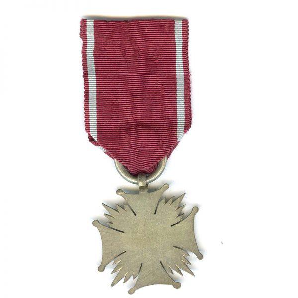 Cross of Merit R.P. silver(L22699)  G.V.F. £55 2