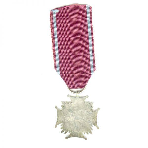 Cross of Merit P.R.L. silver (L22703)  N.E.F. £35 2