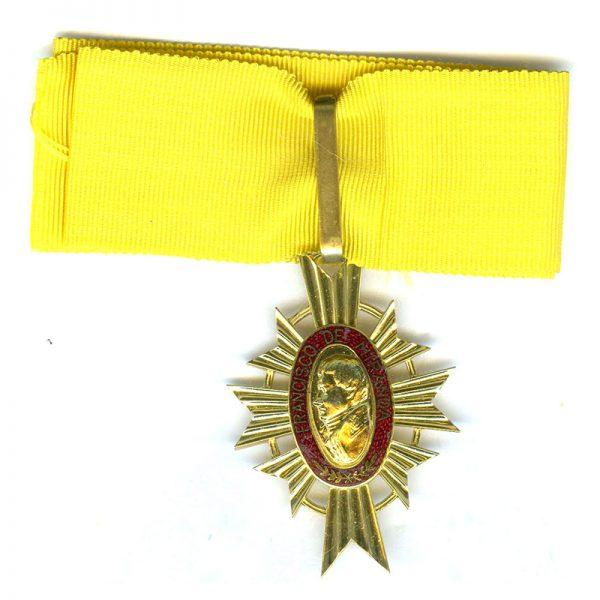 Order of Francisco de Miranda 1