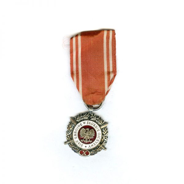 Armed Forces Medal for L.S. To the Fatherland 1951  10 years silvered... 1