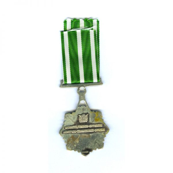 Prisons Service Medal of Merit for Non Commissioned Officers in silver 2