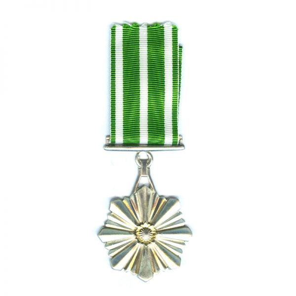 Prisons Service Medal of Merit for Non Commissioned Officers in silver 1