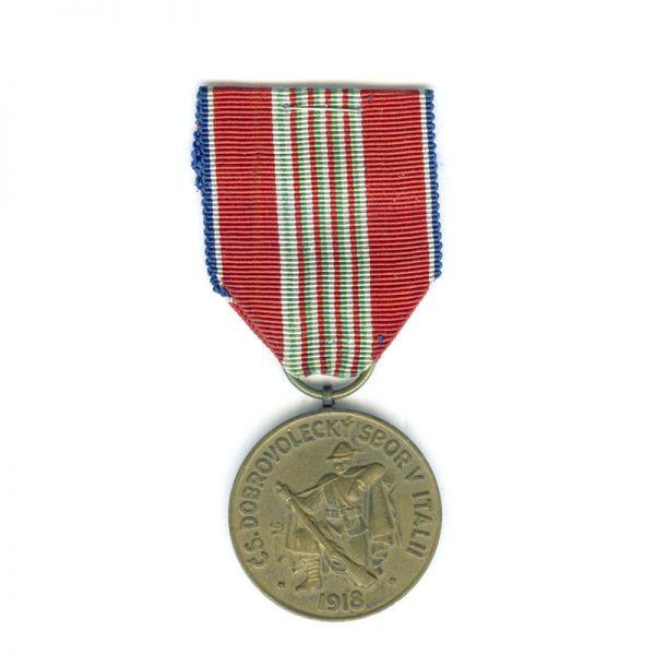 Italian Legion Medal 30 years commemorative 1918-1948(L22944)  N.E.F. £55 1