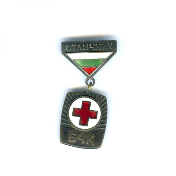 Red Cross pin badge enamel 1