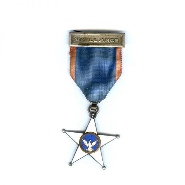 Order of Bravery bar Vaillance rare(L23076)  G.V.F. £125 1