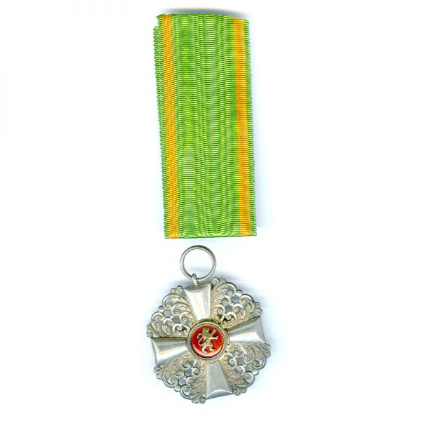 Order of the Zahringen Lion Knight with gold  centre 2