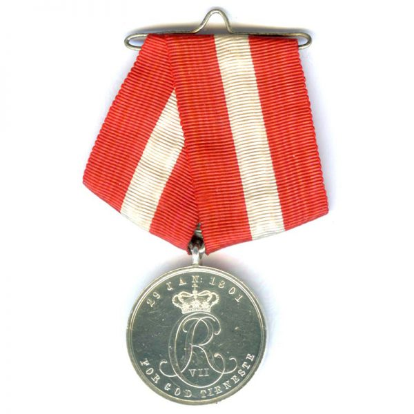 Army Long Service medal silver 	(L23409)  E.F. £45 1