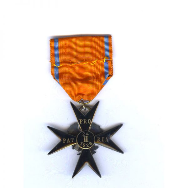 Order of the Eagle Cross 1st type Knight 2