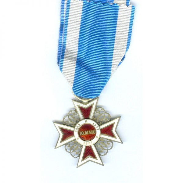Order of the Crown 1st type officer  badge 2