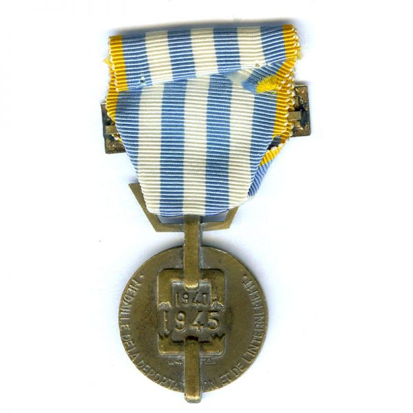 Medal for Deportees and Internment of 1940-1945 bar Deporte(L23588)  N.E.F. £48 1