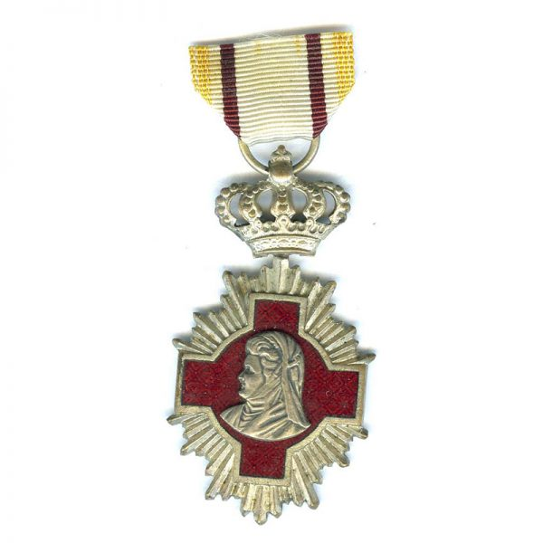 Medical Merit Cross 2nd  class silvered and enamel 1