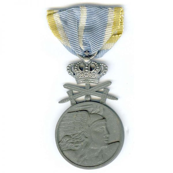Air Force Medal for Bravery with Crown and Swords 2nd class silvered... 1