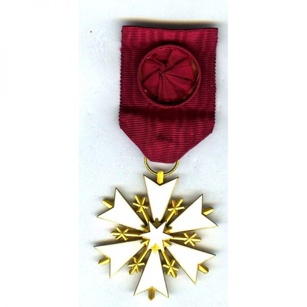 Order of the White Star Officer small repairs to 2 arms near... 1