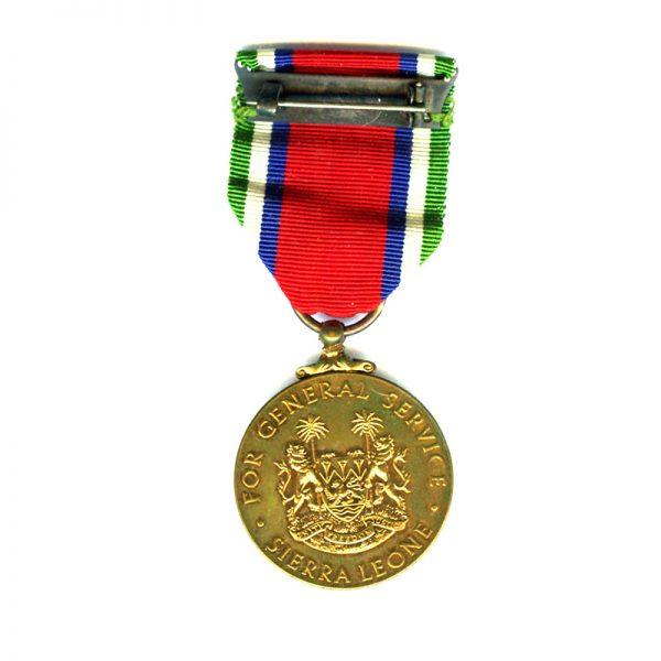 General Service Medal (EIIR) bronze 2