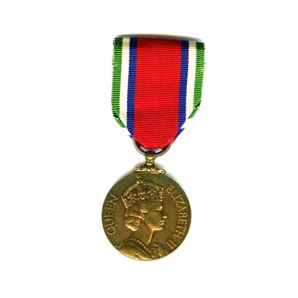General Service Medal (EIIR) bronze 1