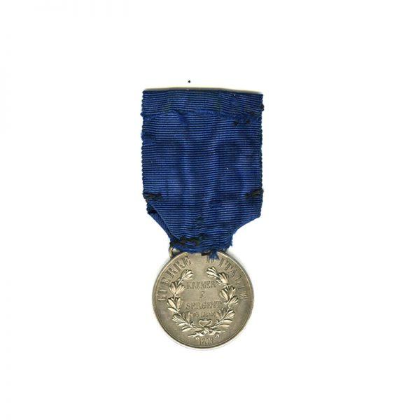 Al Valore Militare Guerre d'Italie 1859 silver 2