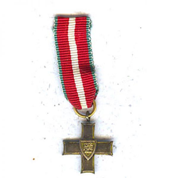 Order of Grunwald Cross 1944 1st class neck badge(L23861)  G.V.F. £35 1