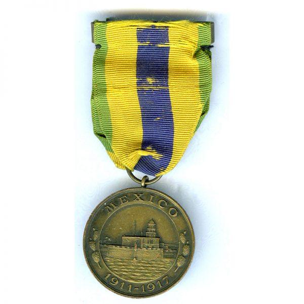 Mexico Service 1911-1917  Navy 1