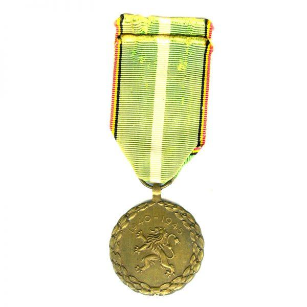 Militia Service medal 1940-1945 scarce (L24273)  N.E.F. £65 1