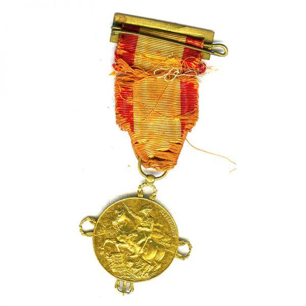 Centenary of Constitution of Cadiz 1812  silver gilt 2
