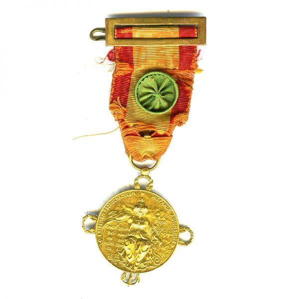 Centenary of Constitution of Cadiz 1812  silver gilt 1