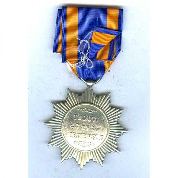 Star for Loyalty and Merit 1893 2