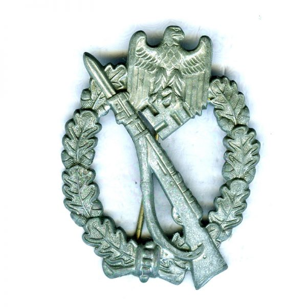 Army Infantry Assault  Badge unmarked  pillow crimped fittings. This is where the... 1