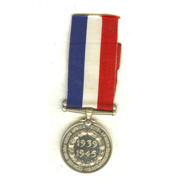Home Service Medal 1939-45 silver scarce(L25098)  N.E.F. £48 2