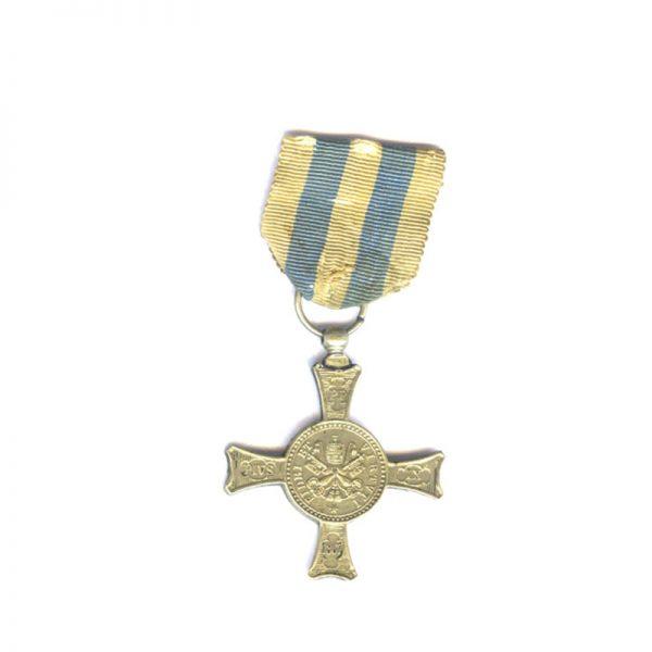 Cross of Mentana nickel issue old original ribbon(L25203)  G.V.F. £150 1