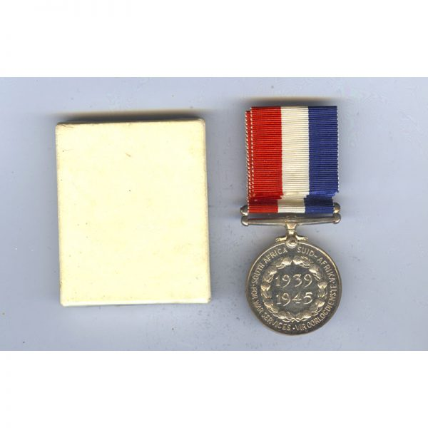 Home Service Medal 1939-45 silver  with original certificate of issue John Lawson 2