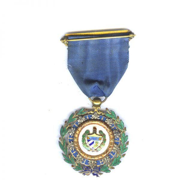 Order of Cespedes Officer in silver gilt  superb quality 2