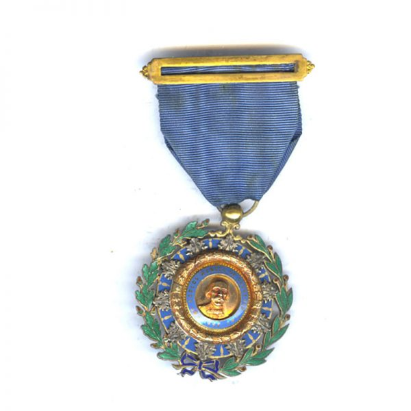 Order of Cespedes Officer in silver gilt  superb quality 1