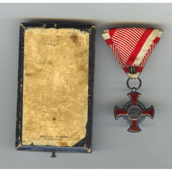 Silver Merit Cross 1849 small type with Crown 2