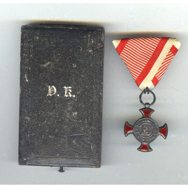 Silver Merit Cross 1849 small type with Crown 1