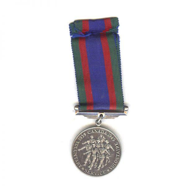 1939-45 Volunteers medal silver(L25726)  N.E.F. £35 2