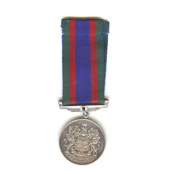 1939-45 Volunteers medal silver(L25726)  N.E.F. £35 1