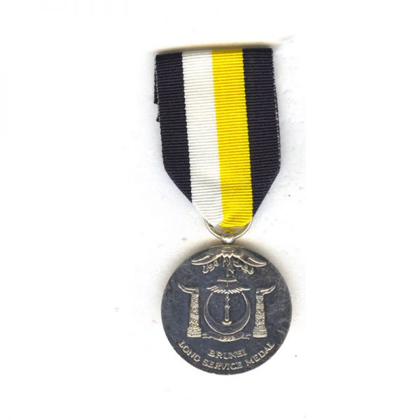 Government Official's Long Service Medal Pingat Kerja Lama in silver  by... 1