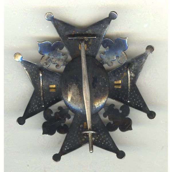Order of Charles III Grand Officer  breast star 2