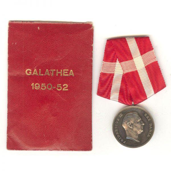 Galathea Medal 1950-1952 1