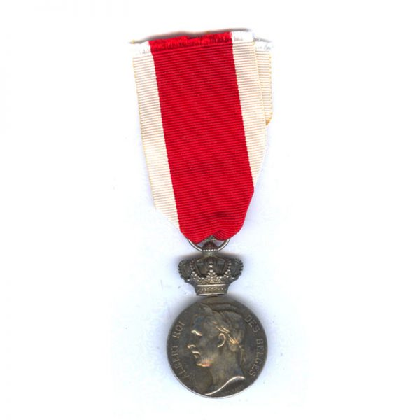 Olympic Official Medal Anvers 1920 silver by C.Devreese 1