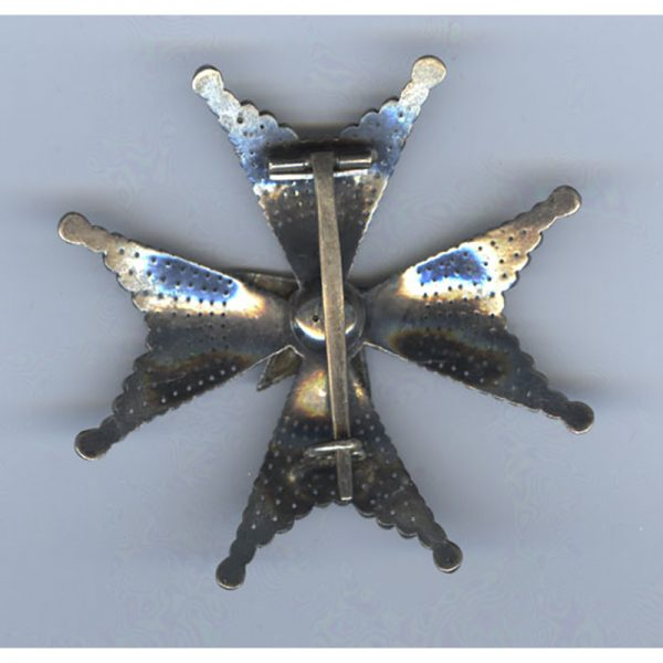 Order of the North Star Grand Officer breast star 2