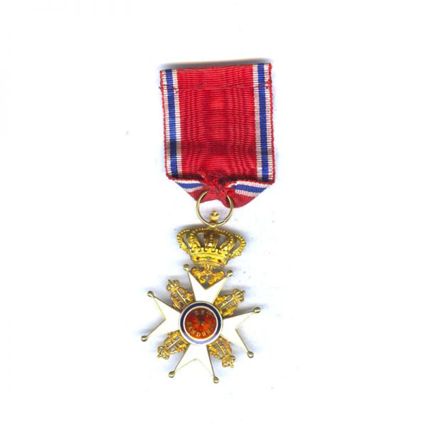 Order of Olaf Officer 1st type in GOLD superb quality very early... 2