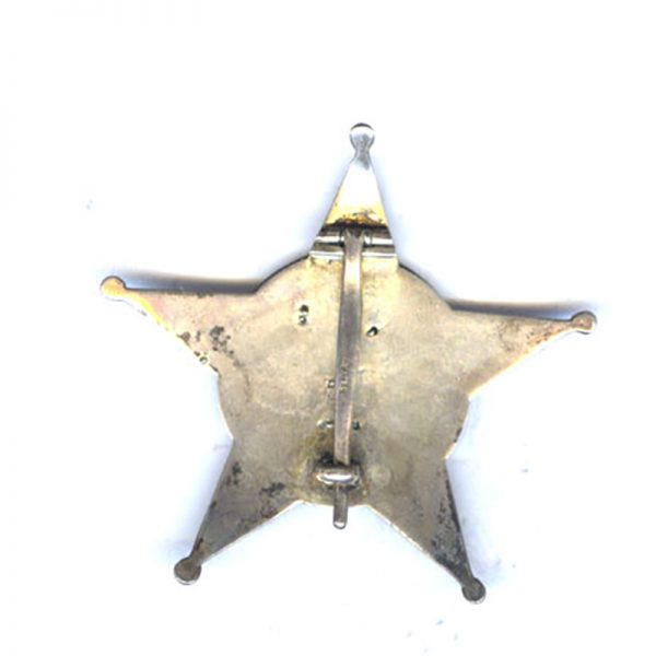 Gallipoli Star Officers German made star marked Silber on pin 2